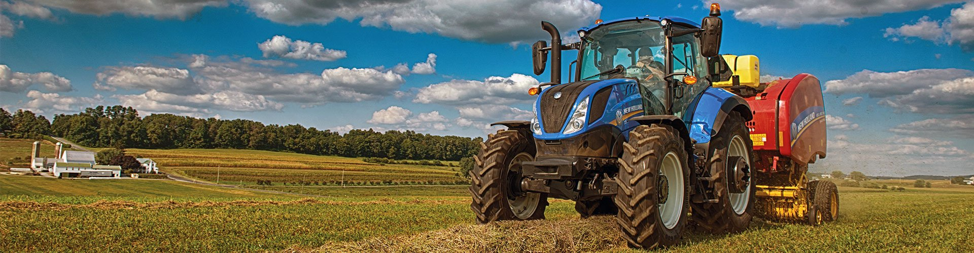 New Holland Tractor/Baler